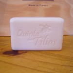 Soap embossed in hollow
